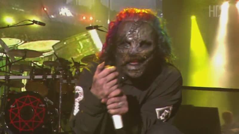Slipknot - Live in Rio 2004 ᴴᴰ Portugal Lisoboa (перкуссии гораздо громче) Sic - Blister - Duality
