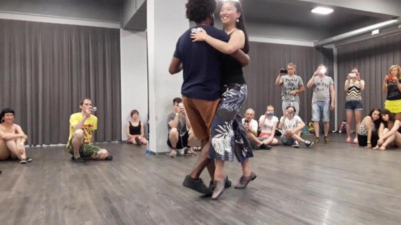 Forroaru-1 день-Бернард и Аня