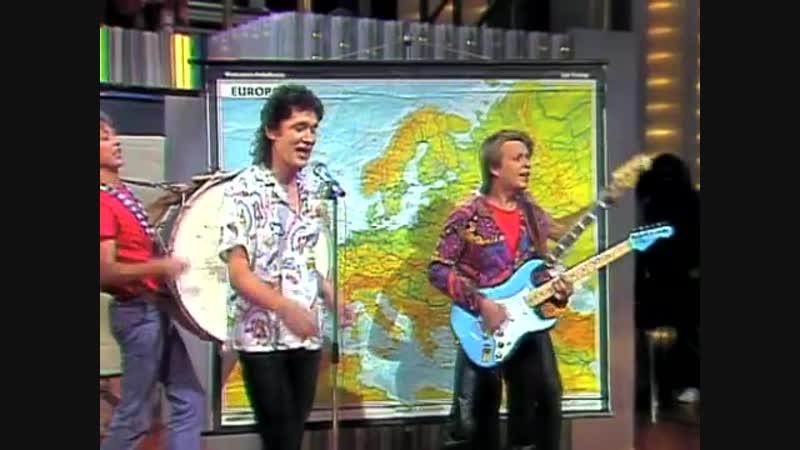 Besuchen Sie Europa solange es noch steht. ZDF Hitparade 22.8.1983