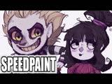 SPEEDPAINT Beetlejuice and Lydia