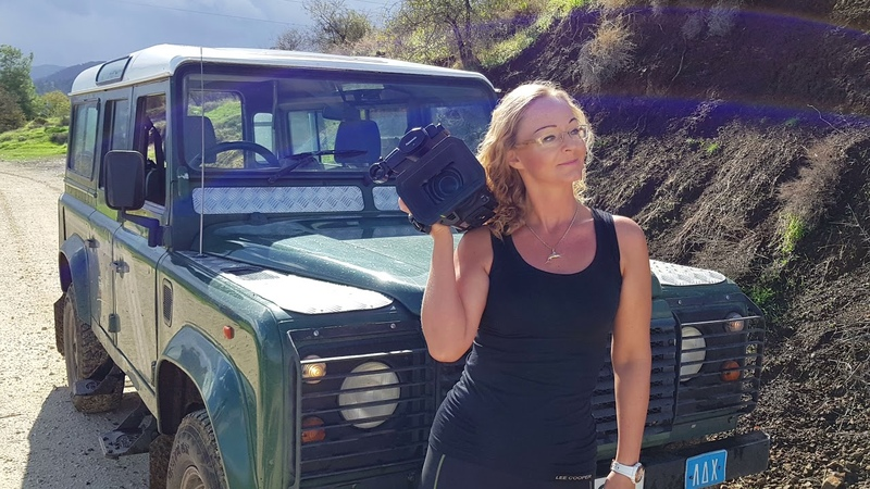 Trip to Troodos by LandRover Defender with Trackers 4K