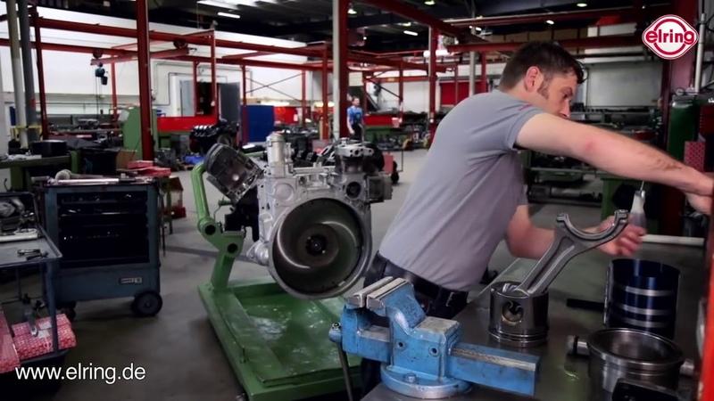 Zylinderlaufbuchsenring Lkw -fachgerechter Einbau | Installation Cylinder liner seal ring (truck)
