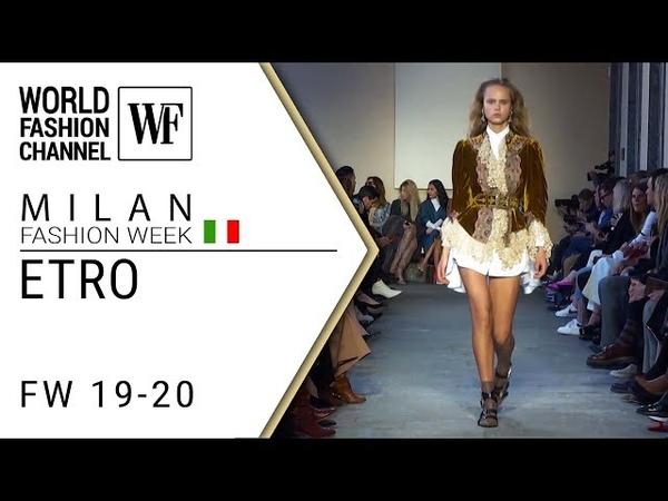 Etro FW 19-20 Milan fashion week