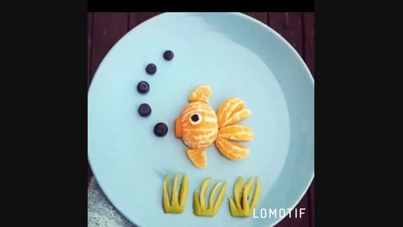 Мастер класс поварёнок рыбки