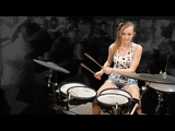 Van Halen Hot For Teacher Mia Morris 13-years old Nashville Drummer, Musician, Songwriter