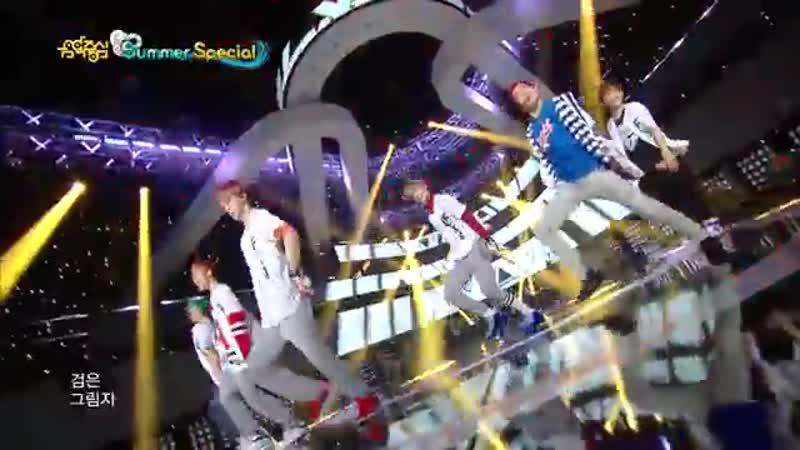 【TVPP】EXO - Growl (White Uniform Ver.), 엑소 - 으르렁 @ Show! Music Core Live