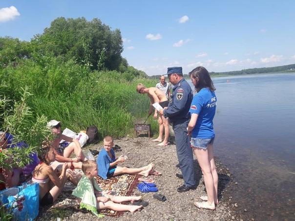 В Усть-Илимске началась акция «Вода – безопасная территория»