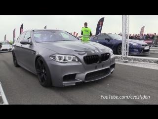 900HP BMW M5 F10 HPT vs 650HP Nissan GTR R35