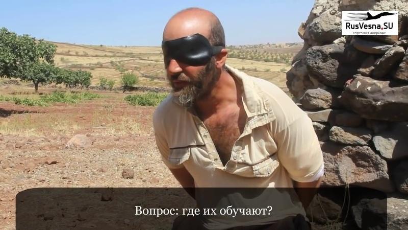 Сирия захваченный спецназом игиловец сдал американских кураторов