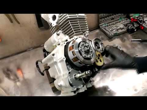 2 Racer Enduro RC150 GY Разбираемся с мотором!