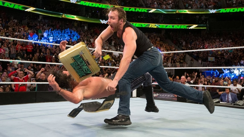 The Kingslayer: Dean Ambrose turns the briefcase into a championship-winning weapon: WWE Money in the Bank 2016