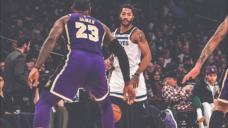Derrick Rose 31 Points, Career-High Three-Pointers Highlights at Lakers
