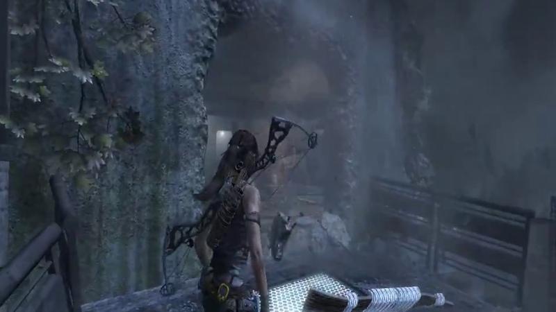 Tomb Raider 2013 прохождение. На пути к древней гробнице в скалах.