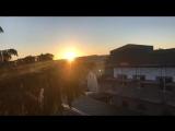 Встречаем рассвет на минарете нашей мечети)