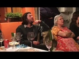 Salvador Sobral &amp Caetano Veloso dinner in MesaLuisa 09-05-2018 full