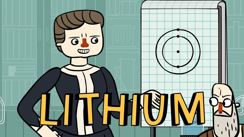 Marie Curie's Periodic Pantry: Lithium