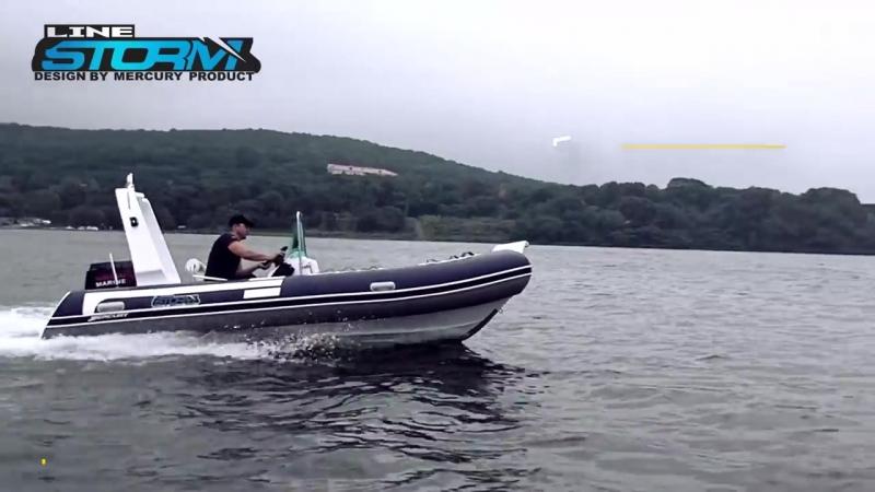 Тест-драйв лодки РИБ (RIB) Stormline 500 Extra Ocean Drive