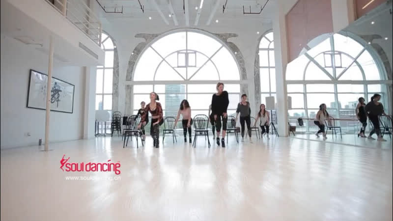 Chair dance Girls need love