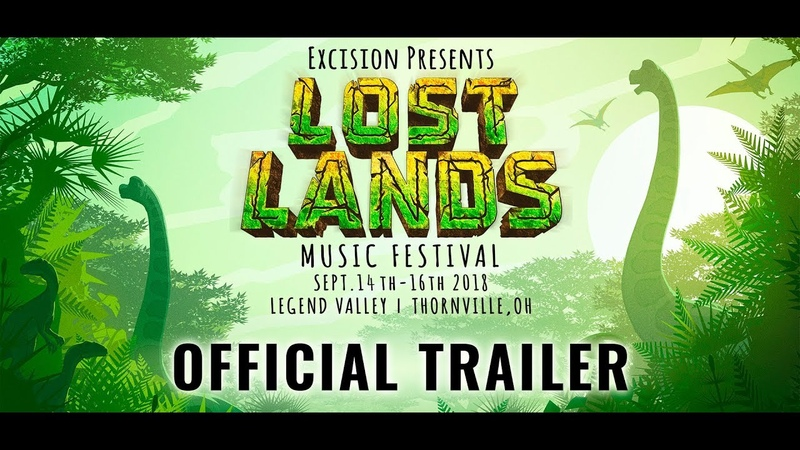 Excision presents Lost Lands Music Festival Official 2018 Trailer