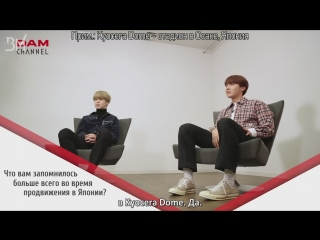 [RUS SUB][06.04.18] J-Hope and Jimin @ DAM CHANNEL
