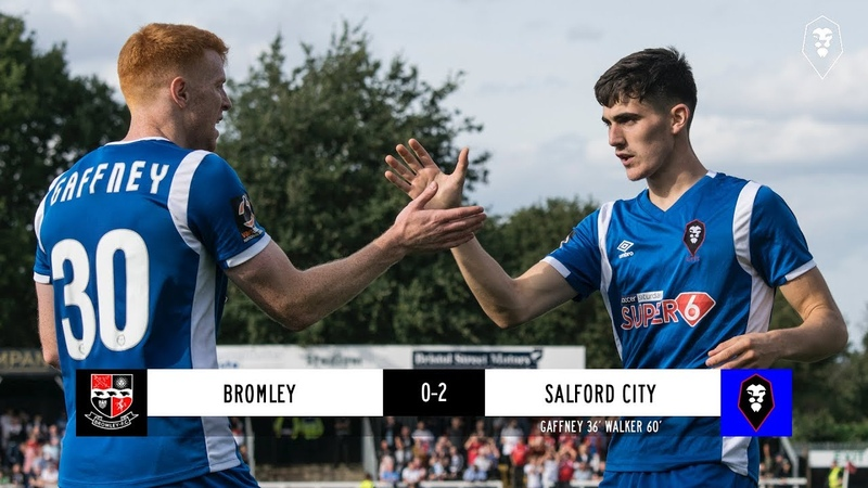 Bromley 0-2 Salford City - National League 15/09/2018