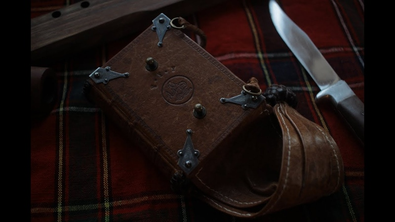 A Modern Take on the Medieval Girdle Book Braiding with Leather Lace and Making Silver Corners
