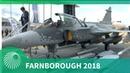 Farnborough Air Show 2018 Saab's Gripen E