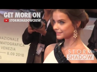 Barbara Palvin, Sara Sampaio and more on the red carpet for the Premiere of A Star is Born in Venice ( 480 X 854 ).mp4