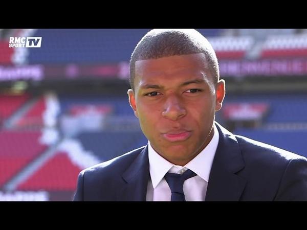 Entretien exclusif - Kylian Mbappé Je veux donner mes meilleures années au football français