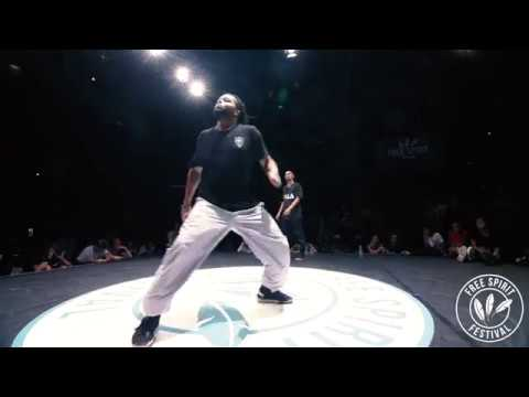 Free Spirit Festival 2018 Championship Ukay Miracle vs. Zyko Dykens Hip Hop Semi-Final