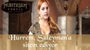 Hürrem Süleyman'a Sitem Ediyor - Muhteşem Yüzyıl 37.Bölüm