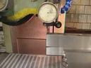 Шлифовка гибочного v-образного пуансона с углом 88 градусов.