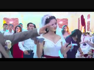 Веселая свадьба, красивый танец, талдыкорган 2018, very nice dance