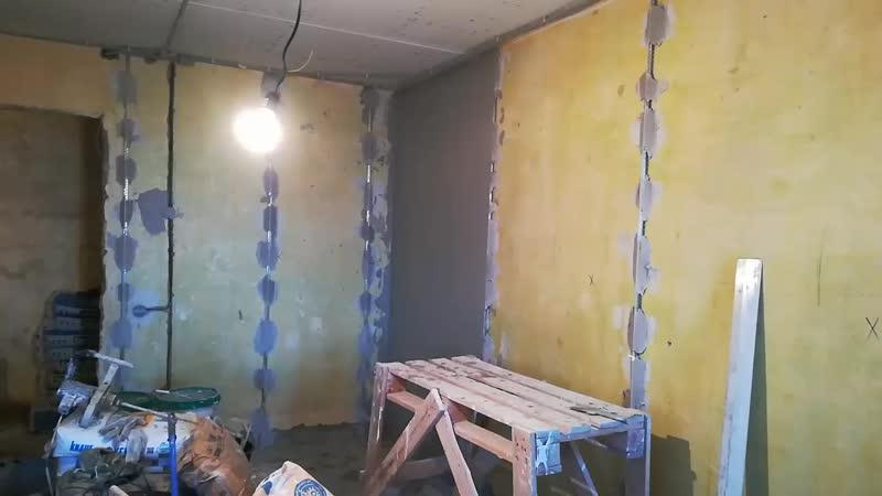 Хоппер ковш штукатурка стен