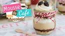 Mousse de café con chocolate Postre sin horno Quiero Cupcakes