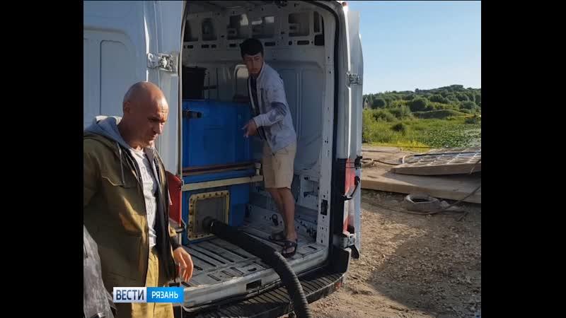 В Оку выпустили более 3 тысяч мальков стерляди