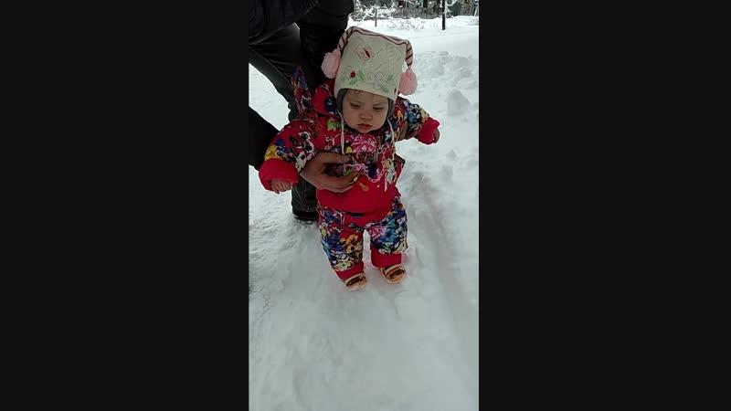 Моя первая зима 👶❤️🤗