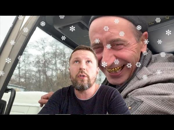 Киев. Снег пошел
