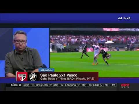 NOVO LÍDER! São Paulo 2 x 1 Vasco PÓS JOGO ESPN (Completo, HD 60fps)