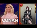 Alice Eve Wants To Explore Typhoid Mary's More Seductive Side - CONAN on TBS