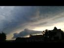 Природа сосково 23 06 2018 ужас облачно тучи вечером