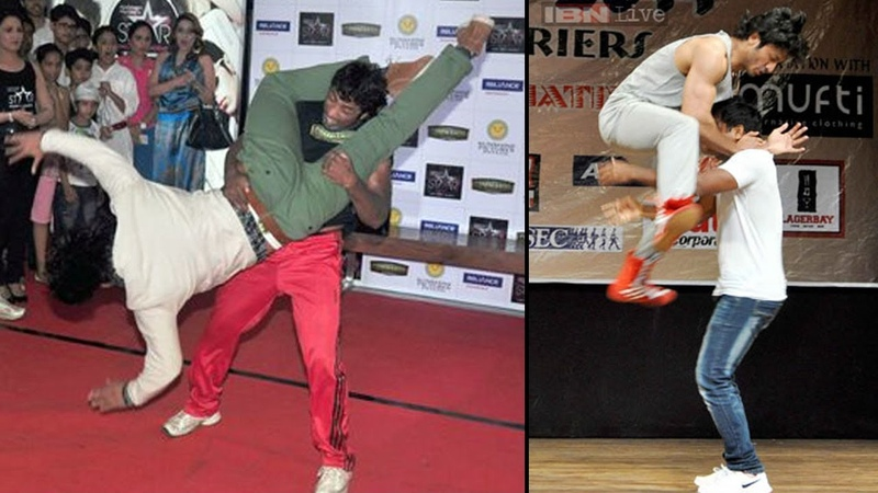 Vidyut Jamwal Teaching Self Defense To Young College Girls