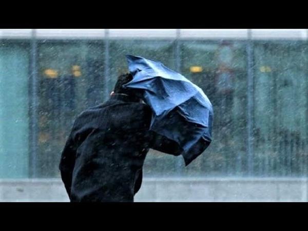 Надвигается шторм. В восточных районах округа пройдут сильные дожди с градом и грозой