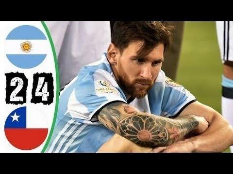 🔥 Аргентина - Чили 0-0(2-4) - Обзор Финала Кубка Америки 27/06/2016 HD 🔥
