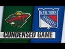 Minnesota Wild vs New York Rangers   Feb.21, 2019   Game Highlights   NHL 2018/19   Обзор матча