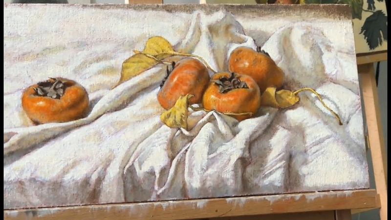 Still Life Painting in Oil Color