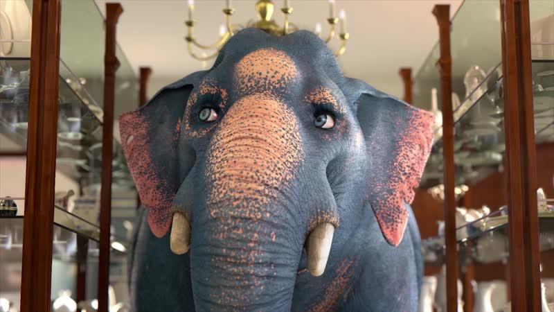 Comme un Elephant dans un magasin de Porcelaine 2017
