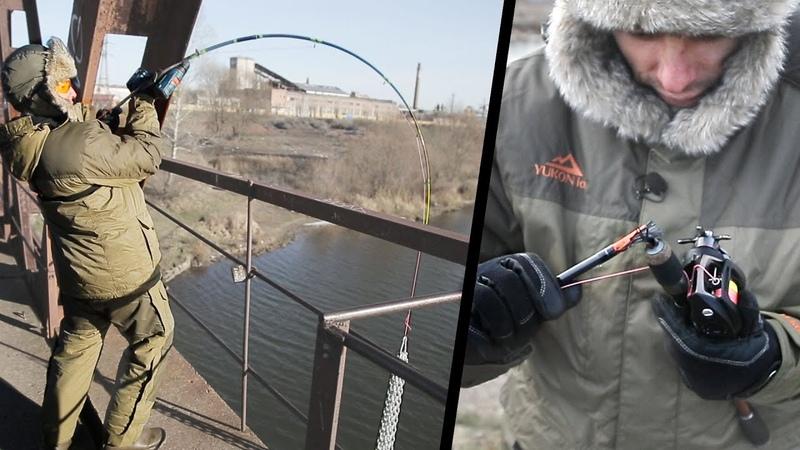 Адский краш-тест мультипликаторных катушек. Зимняя кастинговая рыбалка в стиле Снасти Здрасьте!