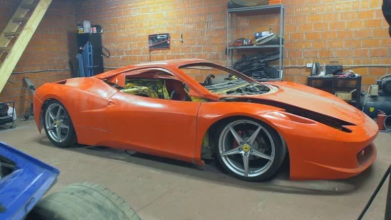 ILYA STREKAL Самодельный Ferrari Не для слабонервных
