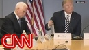 Internet mocks Mike Pence for imitating Trump